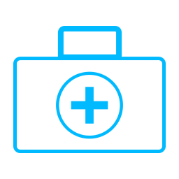 Healthcare and medical answering services icon